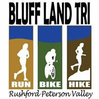 Bluff Land Triathlon: Run, Bike, Hike @ Creekside Park