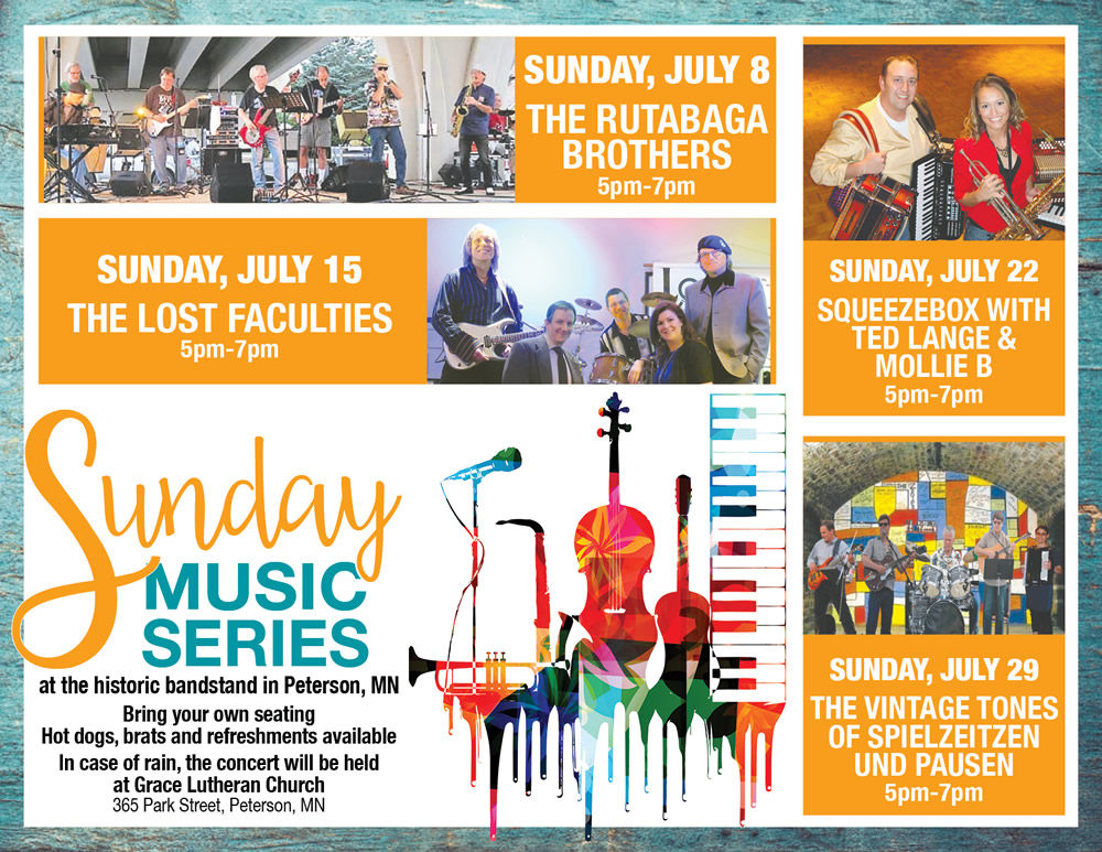 Canceled – Sunday Music Series in the Peterson Bandstand