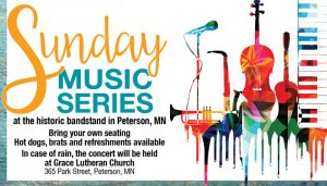 Sunday Music Series in the Peterson Bandstand @ Downtown Peterson