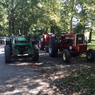 Preston Historical Society Bluff Country Fall Tractor Ride