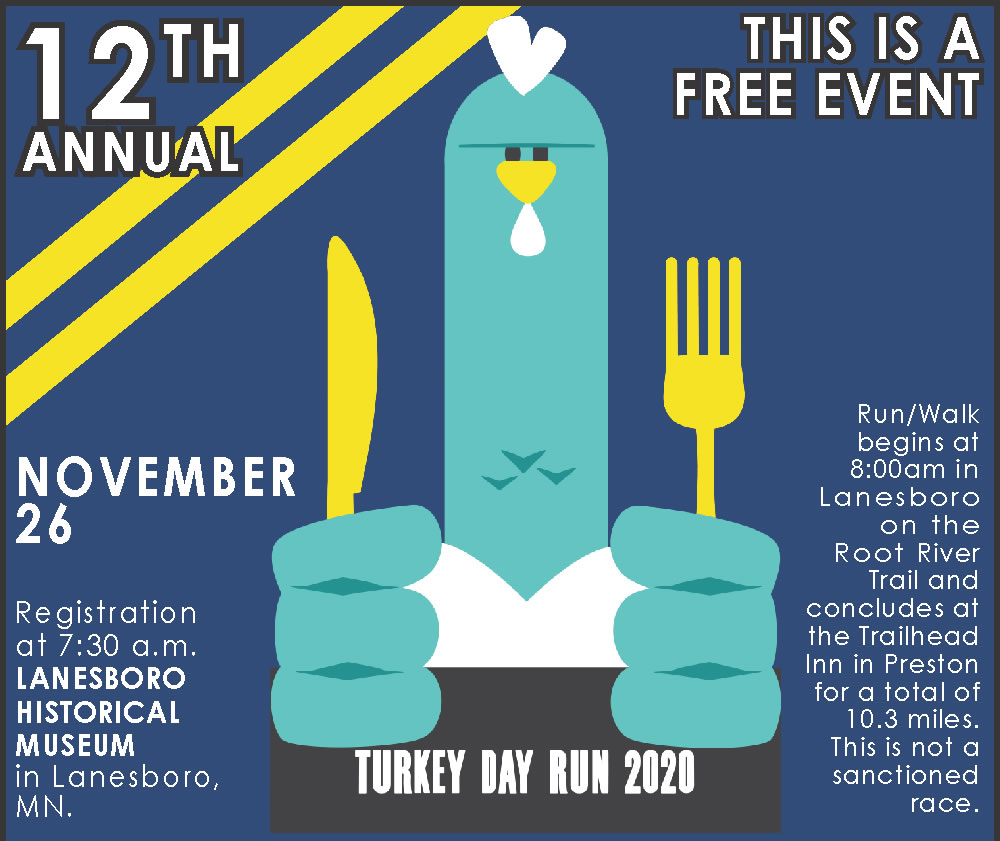 Fillmore County Turkey Day Run