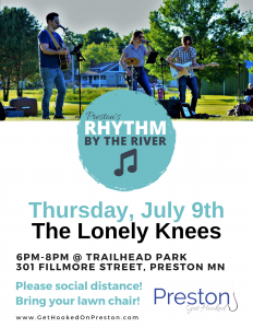 Preston's Rhythm by the River @ Trailhead Park