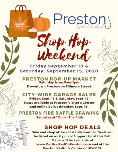 Preston's Shop Hop Weekend!