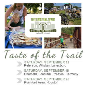 Root River Trail Towns - Taste of the Trail
